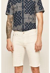 Białe szorty Tommy Jeans casualowe, na co dzień