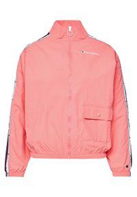 Champion Kurtka przejściowa Rochester Track Back 113453 Różowy Custom Fit. Kolor: różowy