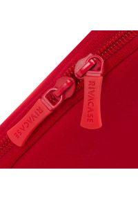 Czerwone etui na laptopa RIVACASE