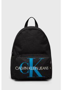 Czarny plecak Calvin Klein Jeans w paski