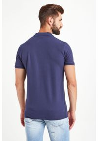 Koszulka polo John Richmond Sport w kolorowe wzory, polo, sportowa