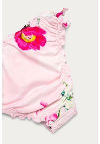 Różowy strój dwuczęściowy Guess z odpinanymi ramiączkami