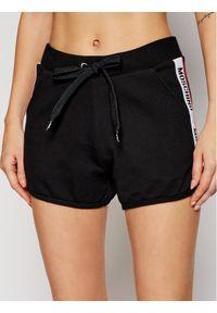 Czarne spodenki sportowe Moschino Underwear & Swim