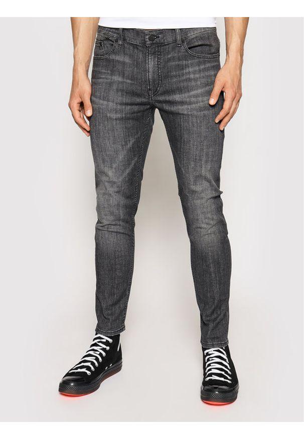 Karl Lagerfeld - KARL LAGERFELD Jeansy 5-Pocket 265801 511833 Szary Slim Fit. Kolor: szary