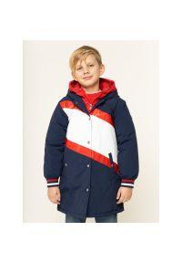 Niebieska kurtka zimowa TOMMY HILFIGER #9