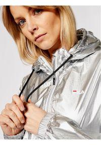 Fila Kurtka przejściowa Nena 688784 Srebrny Regular Fit. Kolor: srebrny