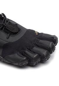 Czarne buty do fitnessu Vibram Fivefingers Vibram FiveFingers, z cholewką, na płaskiej podeszwie #7