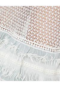 Biała sukienka maxi, na lato, na imprezę