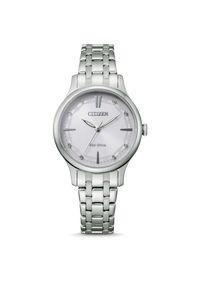 CITIZEN ZEGAREK ELEGANCE EM0890-85A. Rodzaj zegarka: analogowe. Materiał: materiał. Styl: klasyczny, elegancki