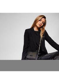 Versace Jeans Couture Torebka E1VWABX2 Czarny. Kolor: czarny