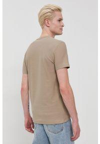 Tom Tailor - T-shirt bawełniany. Okazja: na co dzień. Kolor: zielony. Materiał: bawełna. Wzór: gładki. Styl: casual