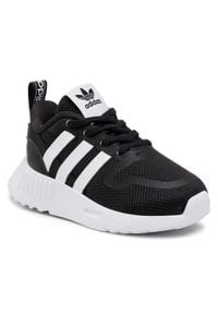Adidas - Buty adidas - Multix El I G55539 Cblack/Ftwwht/Cblack. Okazja: na uczelnię, na spacer. Kolor: czarny. Materiał: skóra, materiał. Szerokość cholewki: normalna