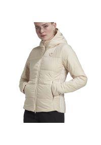 Adidas - ADIDAS SLIM JACKET > GD2509. Materiał: materiał, tkanina, nylon, poliester. Długość rękawa: długi rękaw. Długość: długie. Wzór: aplikacja