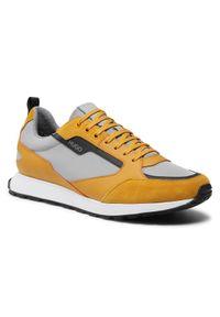 Hugo Sneakersy Icelin Żółty. Kolor: żółty
