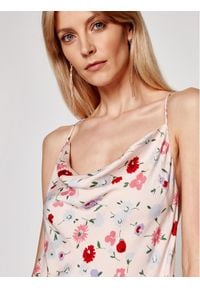 Samsoe & Samsoe - Samsøe Samsøe Sukienka letnia Apples Ml F21100108 Różowy Slim Fit. Kolor: różowy. Sezon: lato #3