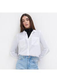 Sinsay - Koszula - Biały. Kolor: biały