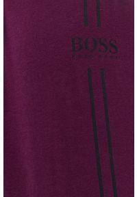 BOSS - Boss - Piżama. Kolor: fioletowy. Długość: długie