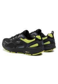 Czarne buty treningowe skechers z cholewką