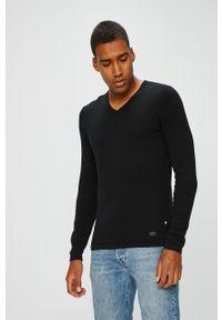 Czarny sweter PRODUKT by Jack & Jones na co dzień, casualowy