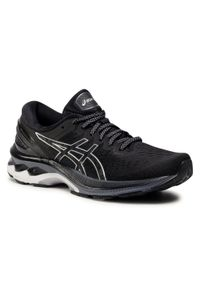 Czarne buty do biegania Asics z cholewką, Asics Gel Kayano