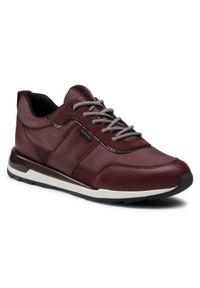 Czerwone buty sportowe Geox