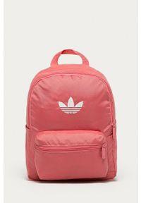 adidas Originals - Plecak. Kolor: fioletowy. Materiał: poliester