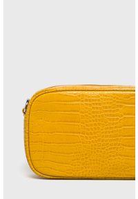 Żółta listonoszka Pieces na ramię, mała #5