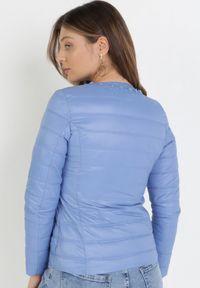 Born2be - Niebieska Kurtka Theliphelia. Kolor: niebieski