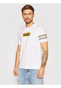 Hugo T-Shirt Dake 50448862 Biały Regular Fit. Kolor: biały
