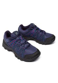 salomon - Salomon Trekkingi Deepstone W 408741 21 V0 Fioletowy. Kolor: niebieski, fioletowy. Sport: turystyka piesza
