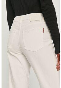 Białe proste jeansy Miss Sixty klasyczne, gładkie