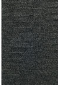 Szary sweter Jacqueline de Yong z długim rękawem, na co dzień, długi, z okrągłym kołnierzem