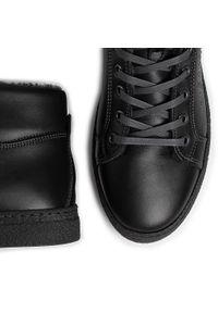 Czarne sneakersy Igi & Co