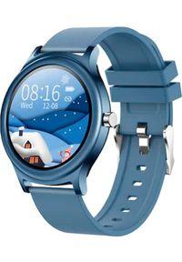 Smartwatch Kumi Kumi K16 Niebieski. Rodzaj zegarka: smartwatch. Kolor: niebieski