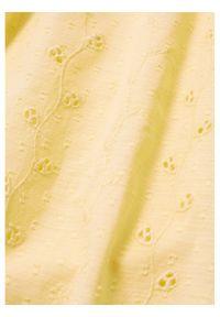 mango - Mango Bluzka Brisbain 87027128 Żółty Regular Fit. Kolor: żółty