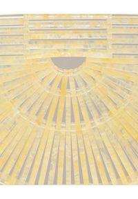 CULT GAIA - Torebka Ark Small. Kolor: żółty. Materiał: z tłoczeniem. Styl: elegancki, klasyczny