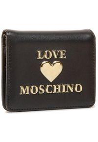 Czarny portfel Love Moschino