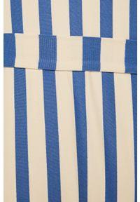 Niebieski strój kąpielowy Billabong z odpinanymi ramiączkami