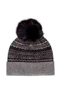 Szara czapka Granadilla sportowa, na zimę