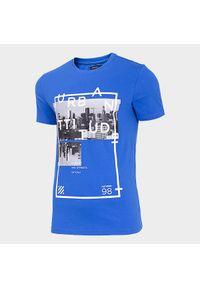 Niebieski t-shirt outhorn