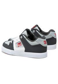 DC Sneakersy Pure Elastic ADBS300256 Szary. Kolor: szary