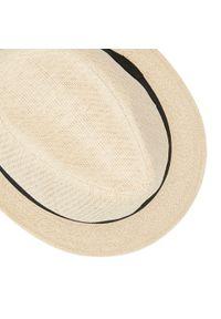 Beżowy kapelusz Jack & Jones