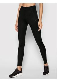 4f - 4F Legginsy H4L21-LEG010 Czarny Slim Fit. Kolor: czarny