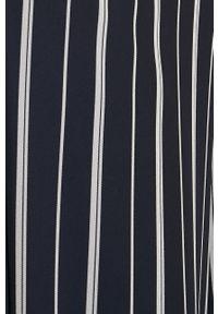 Niebieskie spodnie materiałowe TALLY WEIJL z podwyższonym stanem