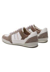 Geox Sneakersy U Kristof B U920EB 08522 C1Z1X Biały. Kolor: biały