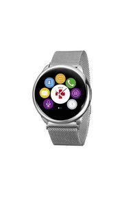 Srebrny zegarek MYKRONOZ smartwatch