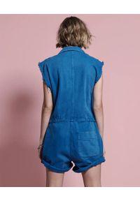 ONETEASPOON - Niebieski kombinezon Safari Bandit. Kolor: niebieski. Materiał: bawełna
