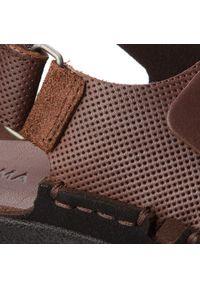 Brązowe sandały Nik na lato #7