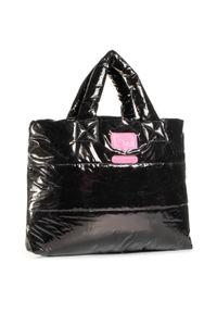 Czarna torebka klasyczna Chiara Ferragni casualowa