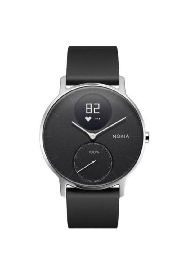 Czarny zegarek NOKIA sportowy